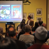 Third Thursday at Cartoon Art Museum, November 2013. Photo by Joseph Driste.